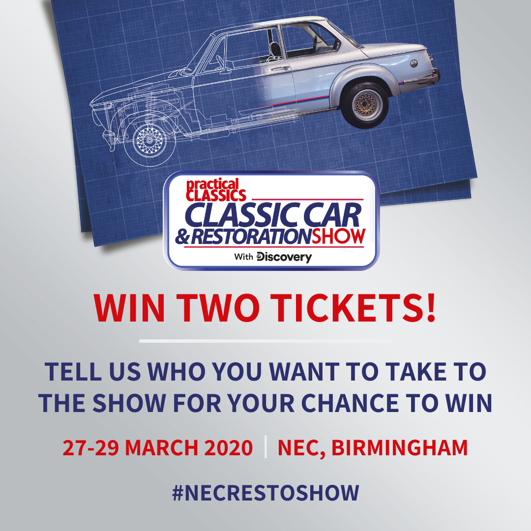 classic car and restoration show 2020 win tickets wt author