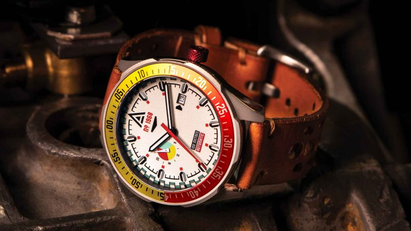automatic racing watch no 1968 white wt author