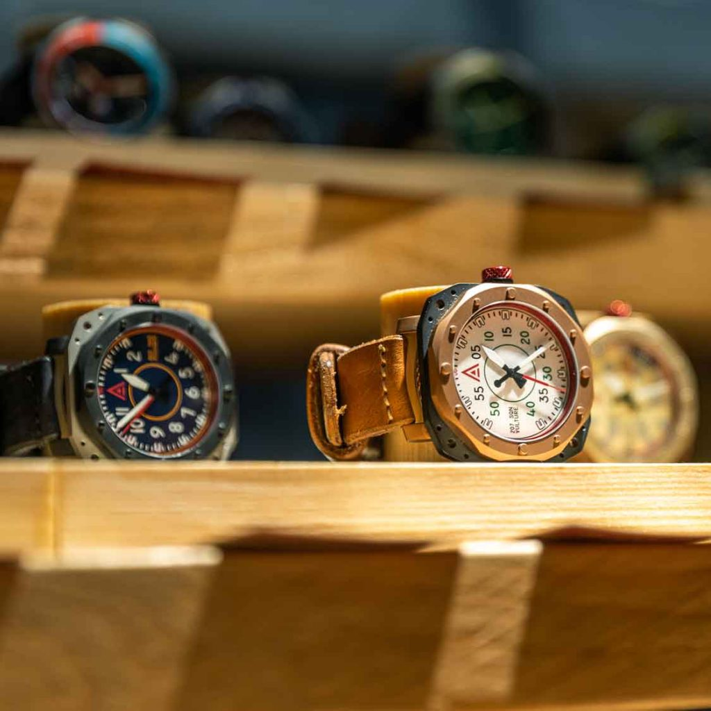 handmade watches wt author exhibitions