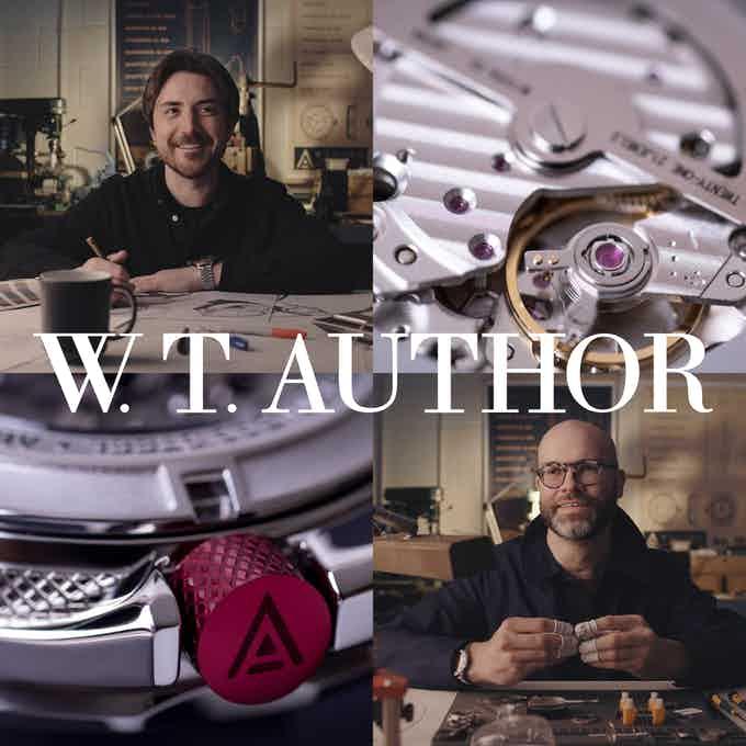 kickstarter watches 2021 wt author design and manufacture