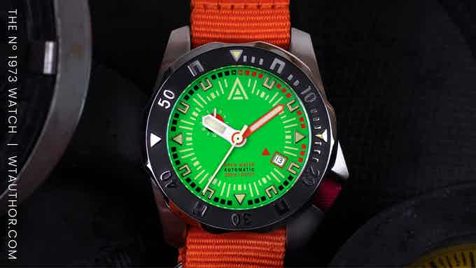 kickstarter watches 2021 wt author green hero 2