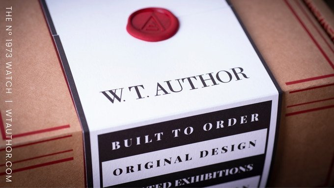 kickstarter watches 2021 wt author the packaging
