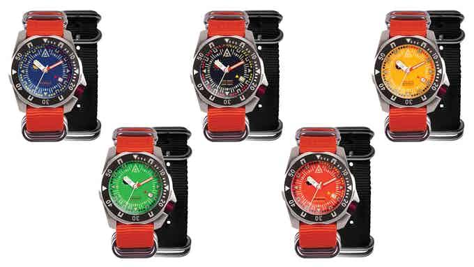 kickstarter watches 2021 wt author watch collection