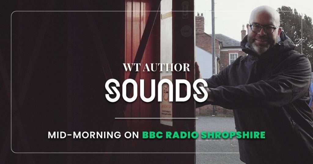 pre-order dive watch wt author bbc radio shropshire